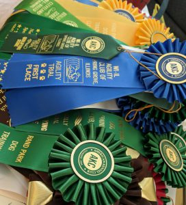 dog show ribbons