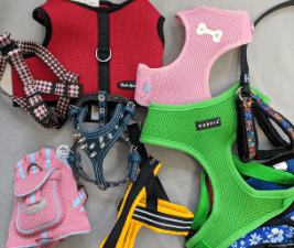 styles of dog harnesses